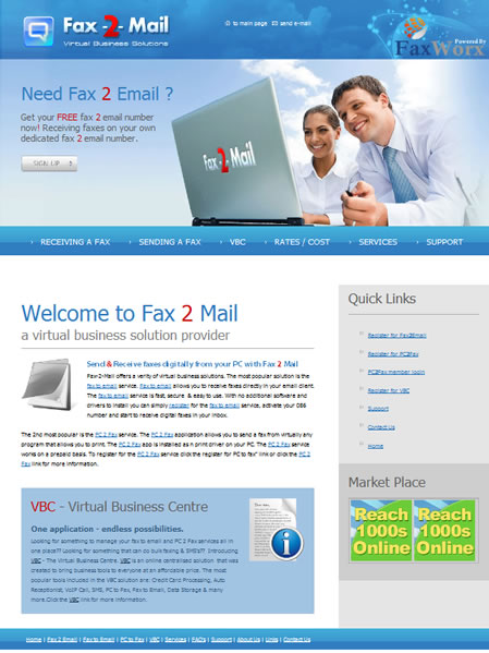 FaxWorx takes over Fax-2-Email