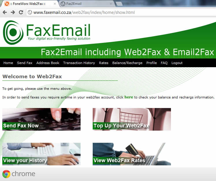 Gmail to Fax - Send a fax from Google Gmail