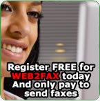 Register for Free Web to Fax - Fax from your PC